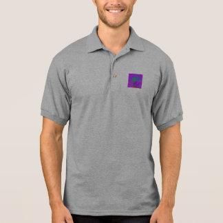 In the Purple Water Polo Shirt