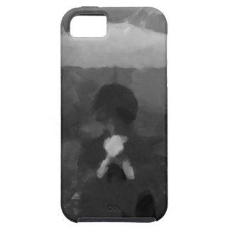 In the Rain Dark Art Painting iPhone 5 Cases