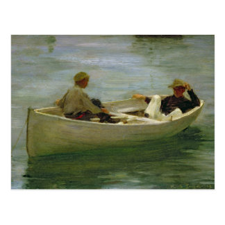 In the Rowing Boat Postcard