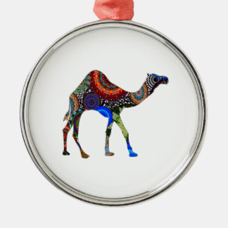 IN THE SAHARA Silver-Colored ROUND DECORATION