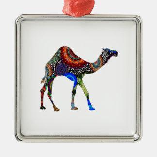 IN THE SAHARA Silver-Colored SQUARE DECORATION