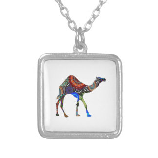 IN THE SAHARA SILVER PLATED NECKLACE
