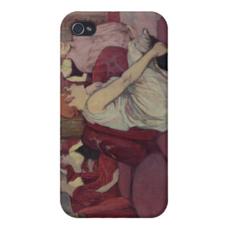 In the Salon at the Rue des Moulins, 1894 iPhone 4 Covers