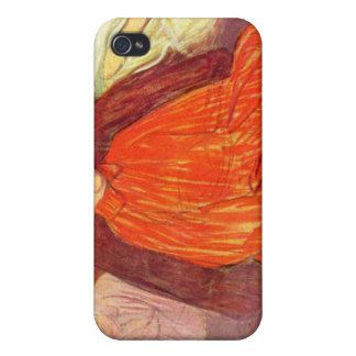 In the Salon Divas by Toulouse-Lautrec iPhone 4 Covers