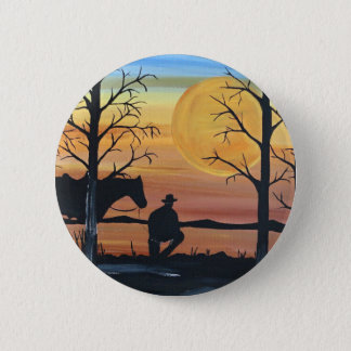 In the silence 6 cm round badge