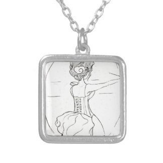 In The Spotlight Silver Plated Necklace