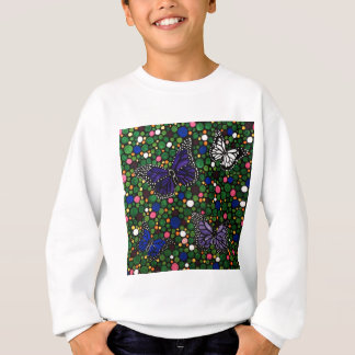 In the spring garden sweatshirt