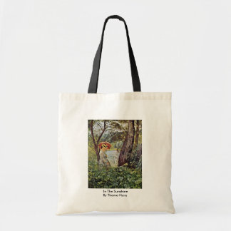 In The Sunshine By Thoma Hans Tote Bags
