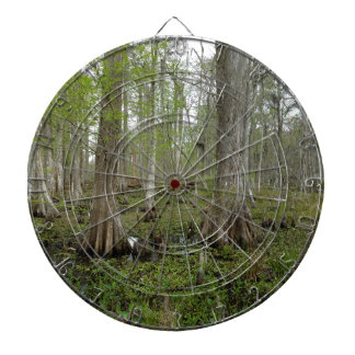 In the Swamp Dartboard With Darts