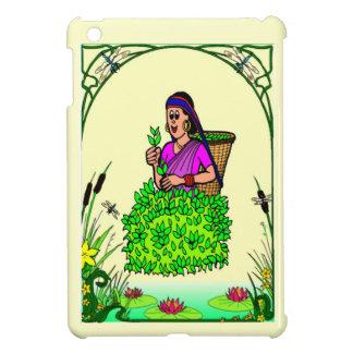 In the tea garden iPad mini cases