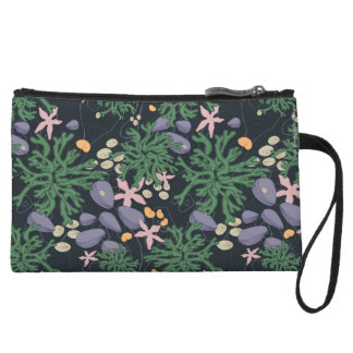 In The Tide Pool Wristlet Purses