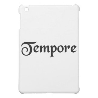 In the time of.... iPad mini case