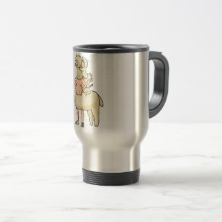 In the truth of the mosquito astonishment English Travel Mug
