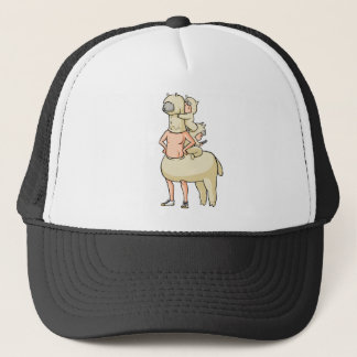 In the truth of the mosquito astonishment English Trucker Hat