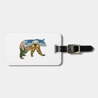 IN THE VALLEY LUGGAGE TAG