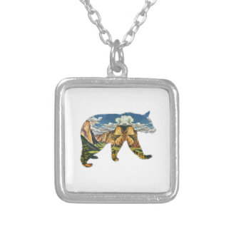 IN THE VALLEY SILVER PLATED NECKLACE