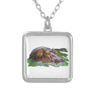 IN THE WATER SILVER PLATED NECKLACE