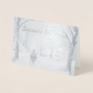 In the Woods Season's Greetings Card