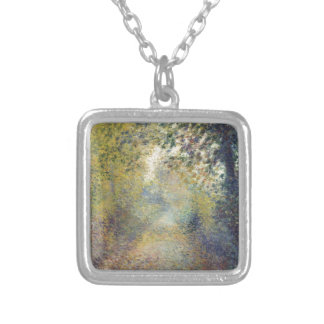 In the Woods Silver Plated Necklace