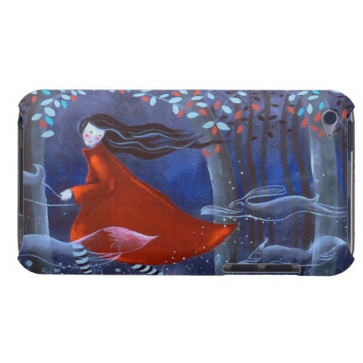 In The Woods With Animal Spirits. iPod Touch Cases