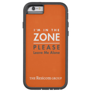 In the zone, please leave me alone. tough xtreme iPhone 6 case