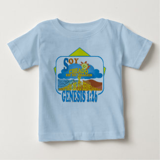 In Their Image ltblu Esp Baby T-Shirt