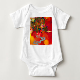 In these days our hearts are full of joy. baby bodysuit