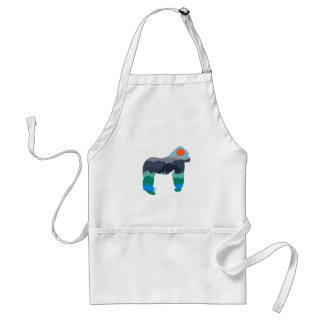 IN THOSE MOUNTAINS STANDARD APRON