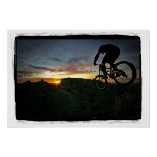 In to the Sunset Poster