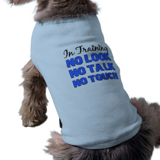 In Training male Shirt Pet Tee