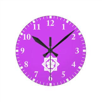In union angle Kikiyou Round Clock