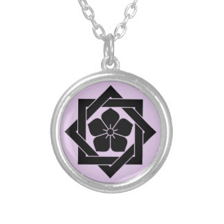 In union angle Kikiyou Silver Plated Necklace