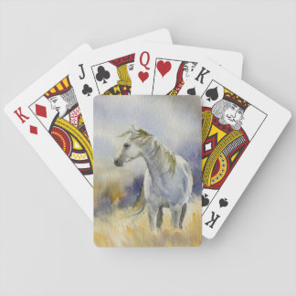 In Windy Field Playing Cards