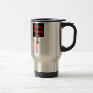 In Worms and Against All - François Word games Travel Mug