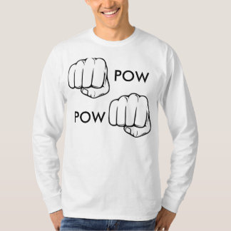 IN YOU'RE FACE | POW (L size) T-Shirt