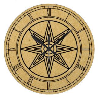 Inanna Star Large Clock