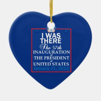 Inaugural 2013 ceramic heart decoration