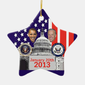 Inaugural 2013 ceramic star decoration