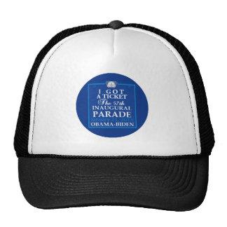 Inaugural 2013 mesh hat