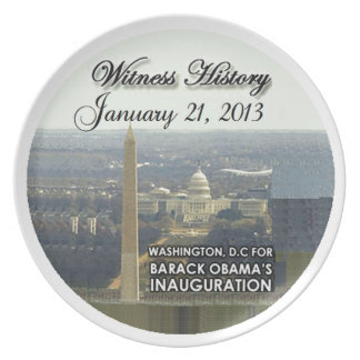 Inaugural 2013 party plate