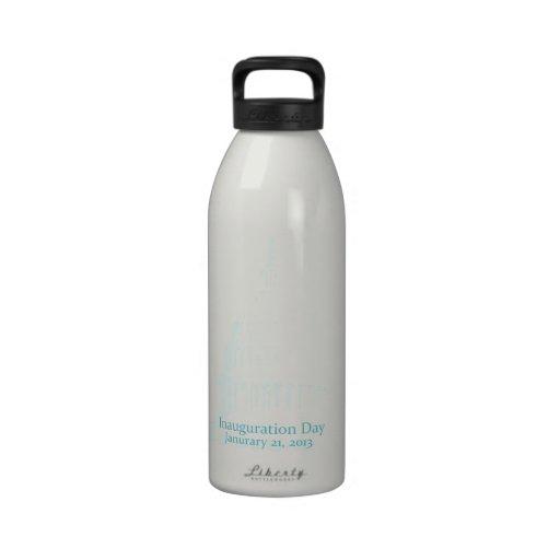 Inaugural 2013 reusable water bottles