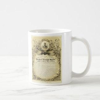 Inaugural Address of Abraham Lincoln March 4 1865 Mugs
