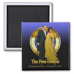 Inaugural Ball - First Couple Magnet