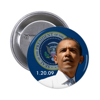 Inauguration Day 1.20.09 - Collector's Item! 6 Cm Round Badge