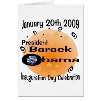 Inauguration Day Celebration Greeting Card