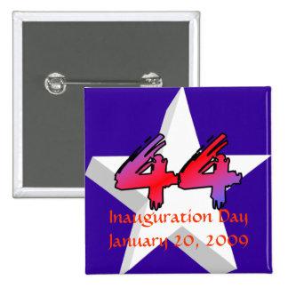 Inauguration Day January 20, 2009 15 Cm Square Badge