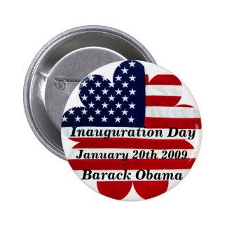 Inauguration Day-OBAMA- Button