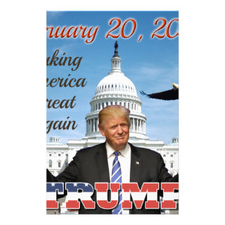 inauguration day stationery
