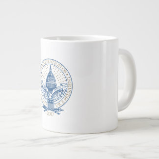 Inauguration Donald Trump Mike Pence 2017 Logo USA Giant Coffee Mug
