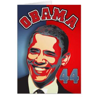 Inauguration Obama - 44th President Greeting Card